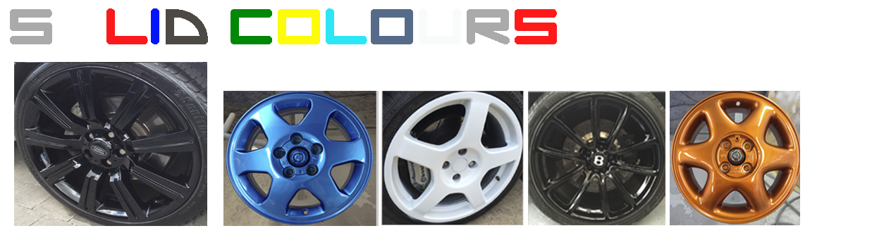 Alloy Wheel Colour Coding And Changing Service From Ace Wheels
